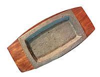 Сковорада чугунная на подставке для подачи 300*200 мм
