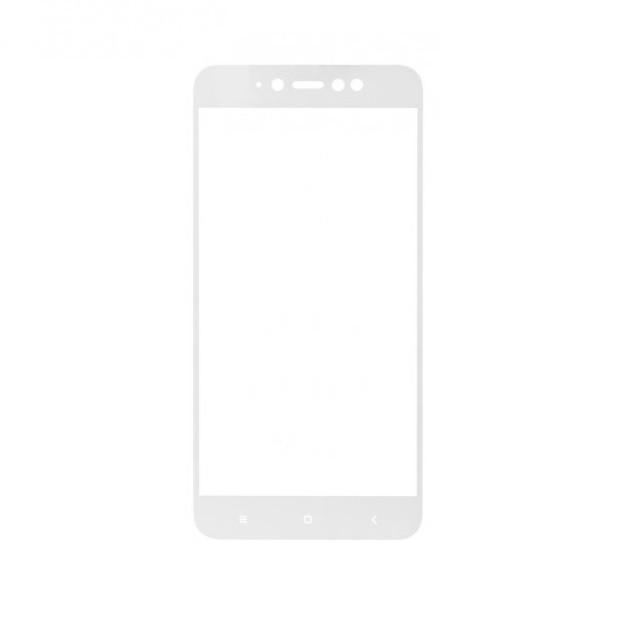 Защитное стекло Mocolo для Xiaomi Redmi Note 5A 16GB Full Screen 5D Glass Cover Premium White
