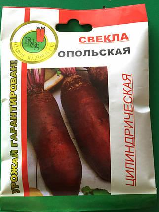 Семена свеклы Опольская 20 г, фото 2
