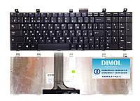 Оригинальная клавиатура для ноутбука MSI A5000, CR500, CX500, GX600, VR600, VX600, UX600, LG E500, rus, black