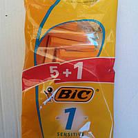 Bic Sensitive одноразовые станки 5+1 шт.(Франция), фото 1