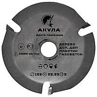 Диск на болгарку АКУЛА на 3 зуба безопасная резка VATZO GRAFF SpeedCutter