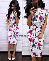 Нежное летнее платье, размер единый 42-44, фото 3