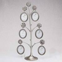 Красивая фоторамка Семейное дерево на 6 фото (39 см)