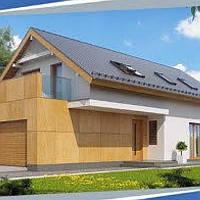 Жилой дом по технологии ЛСТК . Цена под ключ площадь дома 230 кв.м.
