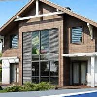 Жилой дом по технологии ЛСТК площадь дома 158 кв.м.