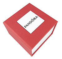 Красная подарочная коробка Pandora для наручных часов и браслетов