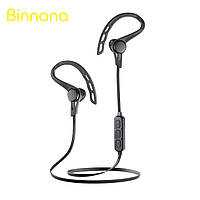 Стерео Блютуз (Bluetooth 4.1) наушник BINANNA 15002 без лишних проводов с микрофоном и стереозвучанием.