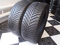 Шины бу 225/50/R17 GoodYear Vector 4 Seasons Лето 6,92мм 2017г