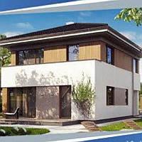 Жилой дом по технологии ЛСТК . Цена под ключ площадь дома 170 кв.м.