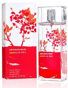 Armand Basi Happy In Red (Арманд Баси Хэппи Ин Ред), женская туалетная вода, 100 ml