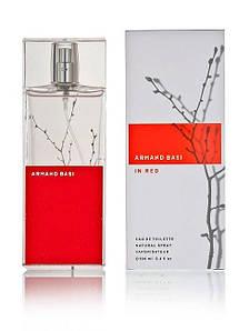Armand Basi In Red (Арманд Баси Ин Ред), женская туалетная вода, 100 ml