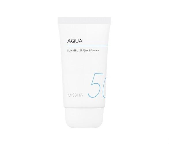 Missha All Around Safe Block Aqua Sun Gel SPF50+ Солнцезащитный аква-гель