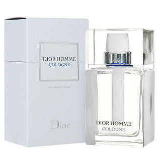 Мужская туалетная вода Dior Homme Cologne 2013 года (цитрусовый фужерный аромат )