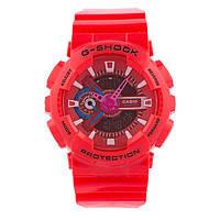 Стильные унисекс часы Casio  G-SHOCK GA-110 СORAL  (касио джи шок)