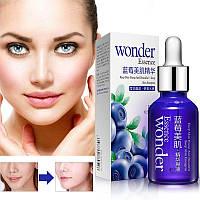 Сыворотка для лица с экстрактом черники и гиалуроновой кислотой Bioaqua Wonder Blueberry Essence 15ml, фото 1