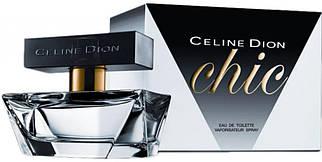 Женская туалетная вода Celine Dion Chic (цветочно-водный аромат)