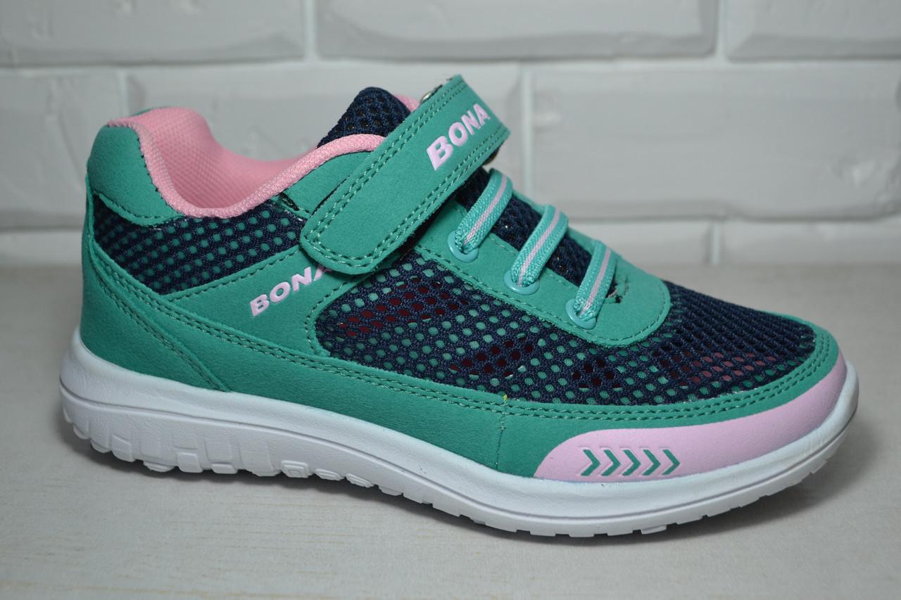 dc357eec Кроссовки Bona зеленые для девочки 31р-36р - Интернет-магазин детской обуви