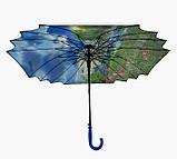 Женский зонт трость Лондон, фото 4