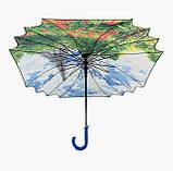 "Жіночий парасольку тростину ""Париж"", фото 4"