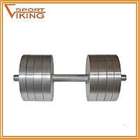 Гантели наборные разборные 2х38 кг (общий вес 76 кг)