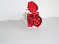Розетка стационарная наружная 63А 4 контакта (3P+E)