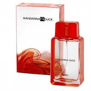 Мужская туалетная вода Mandarina Duck Man Mandarina Duck (бодрящий, сдерженный аромат)