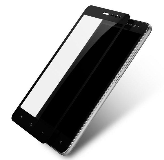Защитное стекло Mocolo для Xiaomi Redmi Note 3 Full Screen 2D Glass Cover в т.у. Black