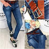 3769 Pealtia (28-33, полубатал, 6 ед.) джинсы женские летние стрейчевые, фото 1