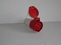 Розетка переносная 125А 4 контакта (3P+E)
