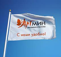 Дизайн флага (текст +логотип или картинка)