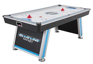 Игровой стол аэрохоккей Blue Line - 214 x 107 x 81 см, с теннисной крышкой в комплекте