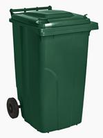 Бак мусорный 240л на колесах