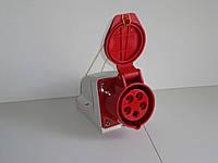 Розетка стационарная наружная 16А 5 контактов (3P+N+E)