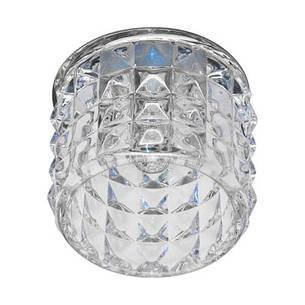 Встраиваемый светильник Feron JD116 прозрачный хром , фото 2