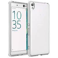 Чехол силиконовый ультратонкий Epic для Sony Xperia XA Dual (F3112) прозрачный