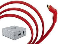 Кабель Van den Hul HDMI Flat 180 15m + QED HDMIEX