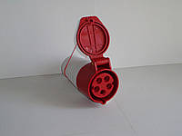 Розетка переносная 125А 5 контактов (3P+N+E)
