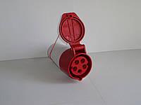 Розетка переносная 32А 5 контактов (3P+N+E)