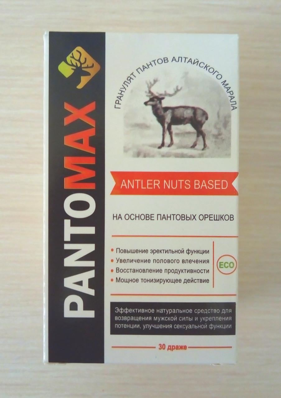 PantoMax (Пантомакс) капсулы для эрекции и потенции 12723