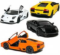 Kinsmart металлическая инерционная машинка Lamborghini Aventador LP 700-4 Кинсмарт KT5355W 006234, фото 1