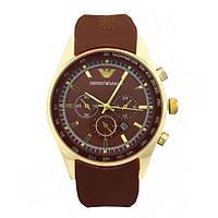 Стильные мужские наручные часы ARMANI BROWN