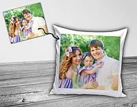 Подушка с Вашим фото ( плюш)