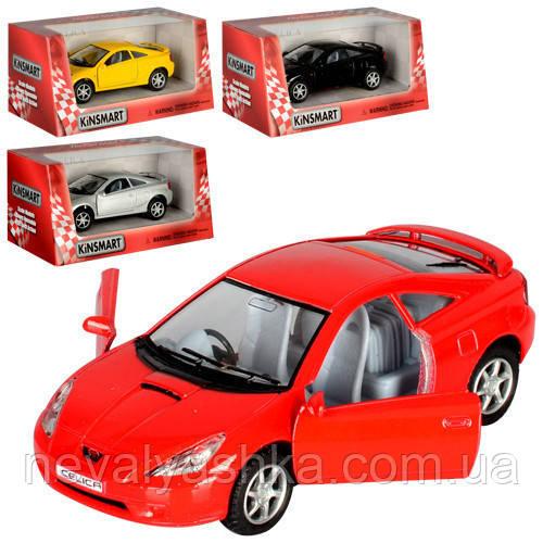 Kinsmart металлическая инерционная машинка Toyota Celica Кинсмарт KT5038W 007103