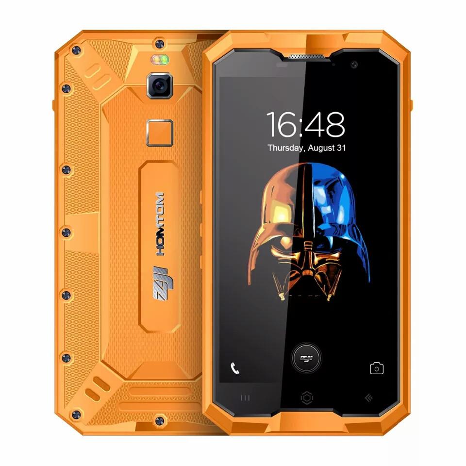 Смартфон Homtom Zoji z8 IP68 4\64гб Orange