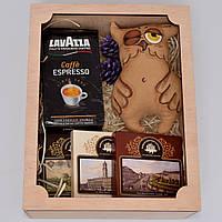 """Подарочный набор """"Сонная сова"""" (игрушка, шоколад, кофе) Оригинальный подарок мужчине, другу, подруге, мужу"""
