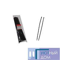 Стяжка кабельная чёрная 4×400