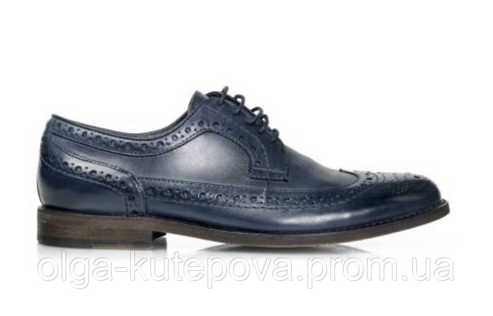 1d7c89ce8 Мужские туфли броги Respect натуральная кожа 45, цена 1 645 грн ...