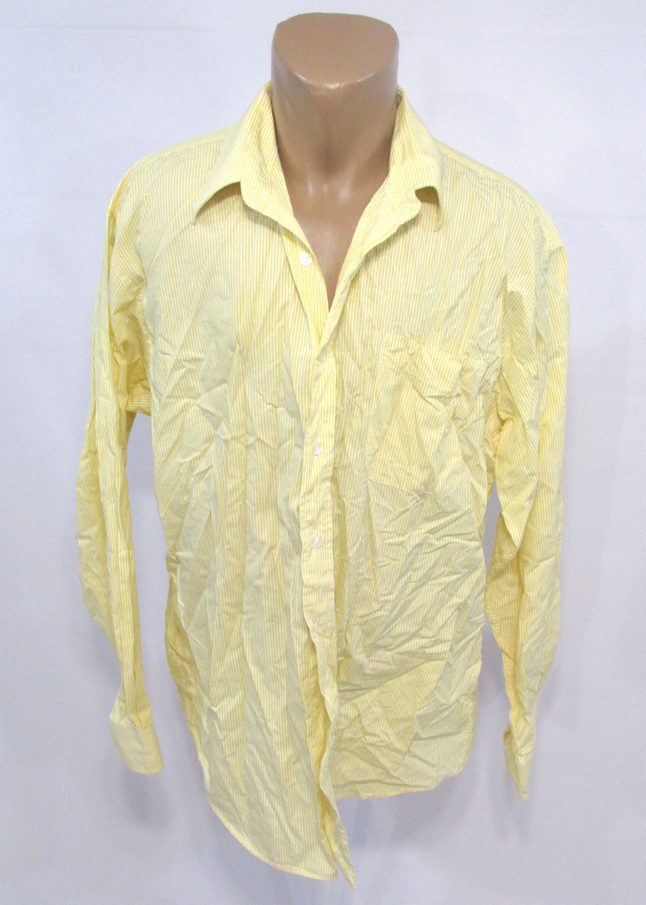 Рубашка Horne Brothers, 16.5 (43), Cotton, св. желтая, Как Новая!