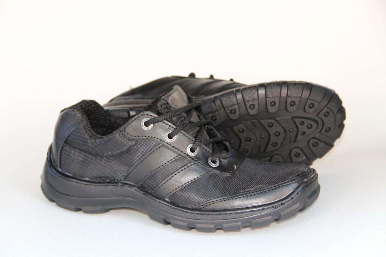 Тактические кроссовки из натуральной кожи SB КРОСС BL